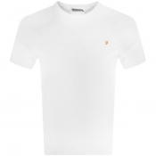 Product Image for Farah Vintage Dennis T Shirt White